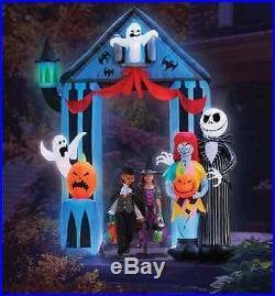 Halloween Inflatable 9' Jack Skellington Nightmare Before Christmas Archway
