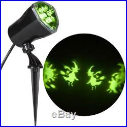 HALLOWEEN Lightshow Projector DECORATION OUTDOOR PROJECTION SPOT LIGHT Scary