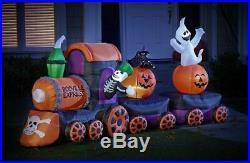 HUGE 15' Foot Halloween Train Deluxe Inflatable Airblown Yard Decoration
