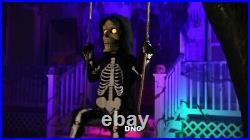 Halloween 3 Ft Swinging Lil Skelly Bones Animated Skeleton Prop Decor