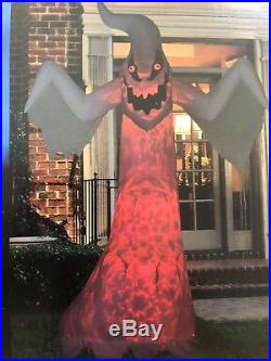 Halloween Airblown Inflatable 10ft. Giant Ghost Light Up