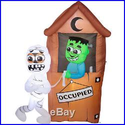 Halloween Airblown Inflatable 6.5 Ft. Monster Outhouse