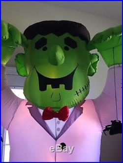 Halloween Airblown Inflatable 8ft Frankenstein Lights Up