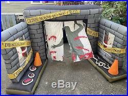 Halloween Airblown Inflatable GEMMY crime scene rare