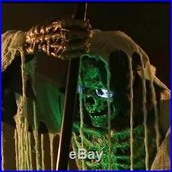 Halloween Cauldron Creeper Animated Prop LifeSize Haunted House Animatronic Yard