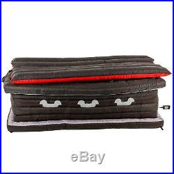 Halloween Decorations Outdoor Inflatables 6 Foot Long Black Coffin with Vampire