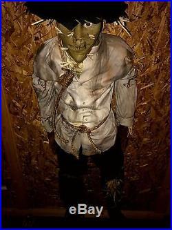 Halloween Evil Scarecrow Grumpy Jack Prop Decoration Monster