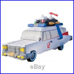 Halloween Ghostbusters Ecto 1 Ambulance Car Inflatable Airblown 9 Ft