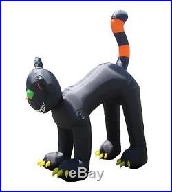Halloween Inflatable Black Cat Yard Lawn outdoor Festive Animated Decoration
