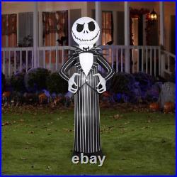 Halloween Jack Skellington Nightmare Before Christmas Inflatable Airblown 7 Ft