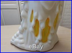 Halloween Melting Ghost 2-Sided Blow Mold Candle -Set Of 2-App. 36 Ht. With Cords