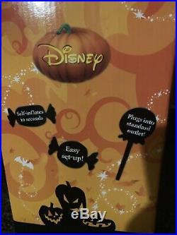 Halloween Mickey Pumpkin Lighted Gemmy Disney Airblown Inflatable Outdoor