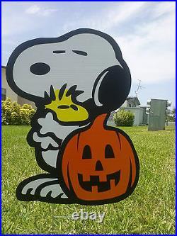 Halloween Peanuts Decorations Great Pumpkin COMBO