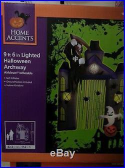 Halloween Yard Decoration 9ft HIGH HALLOWEEN ARCHWAY