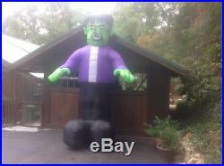 Halloween inflatable Frankenstein (12 ft) by Gemmy