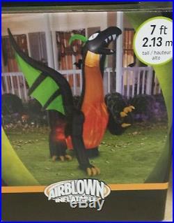 Halloween inflatable dragon gemmy airblown halloween dragon kaleidoscope