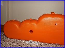 Htf Don Featherstone Blow Mold Happy Halloween Pumpkin Line Union 1996 Vguc