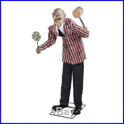 In Stock Halloween Life Size Carnival Circus Clown Animated Prop Haunted Decor