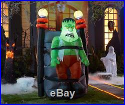 Inflatable Animated Frankenstein Lighted 6' Shaking Halloween Decoration Display