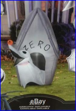 Jack Skellington Gemmy Airblown Halloween Inflatable Nightmare Before Christmas