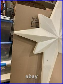 LARGE Blow Mold Star of Bethlehem 39 Tall Union Products Inc. 1993 CHRISTMAS