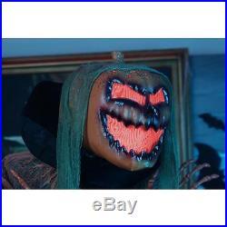 Lifesize Halloween Jack O Lantern Gruesome Animated Standing Pumpkin Demon NEW