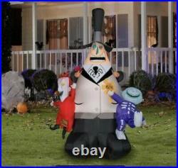 MAYOR Airblown Inflatable LOCK SHOCK BARREL Nightmare Before Christmas Halloween