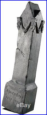 Moving Tombstone Monument Animated Rocking Halloween Prop haunted house decor