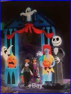 NIGHT MARE BEFORE XMAS 9 Ft Inflatable Jack Skeleton Archway