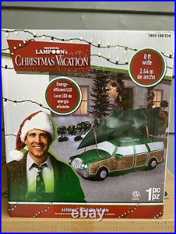 National Lampoons Christmas Vacation 8FT Inflatable BRAND NEW IN BOX