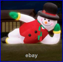 New 6m/20ft Giant LED Inflatable Snowman Christmas with Light