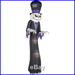 New Halloween Jack the Reaper Skellington Inflatable GIANT 16 FT Airblown