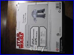 New In Open Box NIOB Disney Star Wars Inflatable Christmas AT-AT Imperial Walker
