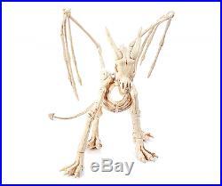 Nib Haunted Halloween Dragon Skeleton Motion Activated @6' Long Indoor Outdoor