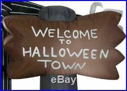 Nightmare Before Christmas Jack & Zero 6' Halloween Inflatable Lawn Decoration