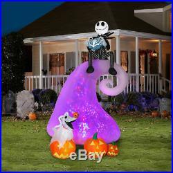 Nightmare Before Christmas Skellington MOUNTAIN ANIMATED Halloween AIRBLOWN ZERO