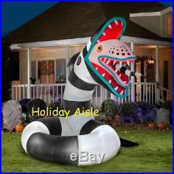 Pre-Order ANIMATED BEETLEJUICE SAND WORM Halloween Lighted Yard Inflatable