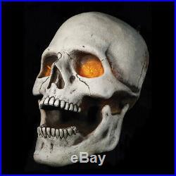 Preorder =halloween Giant Flickering Lite Skull Haunted House Horror Prop Decor