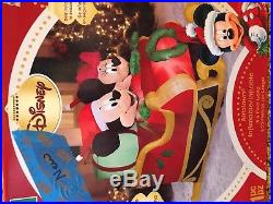 Rare Gemmy Mickey and Minnie Inflatable