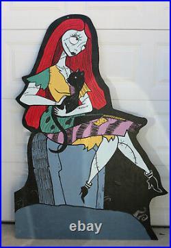 Sally Nightmare Before Christmas Halloween Lawn Art Yard Sign Decor Nbc
