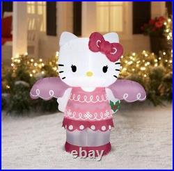 Sanrio Hello Kitty Christmas Angel Yard Inflatable Decoration