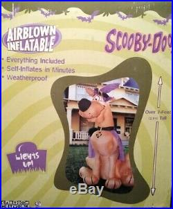 Scooby Doo Cartoon Network Halloween Airblown Inflatable Rare Hard To Find