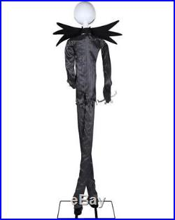Spirit Halloween 6 Ft Jack Skellington Animatronics Decorations The