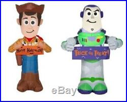 TOY STORY WOODY & BUZZ LIGHTYEAR HALLOWEEN Airblown Yard Inflatable PRE-ORDER