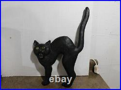 VTG HTF 1992 Union Products Don Featherstone Halloween 17 Black Cat Blow Mold
