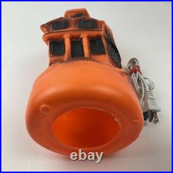 Vintage Halloween Empire Blow Mold Spooky Haunted House 13' 1969