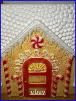 Vintage Rare signed Don Featherstone Union Gingerbread House Blow Mold