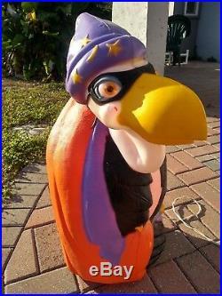 Vintage TPI 1997 Halloween Lighted Vulture Buzzard Plastic Blow Mold 28 RARE